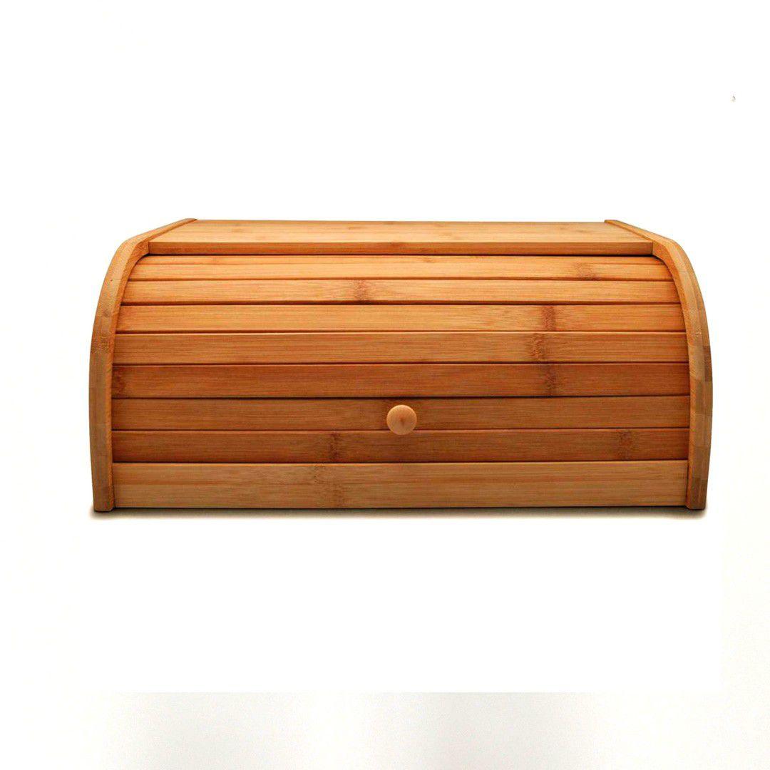 Porta Pão Grande em Bambu