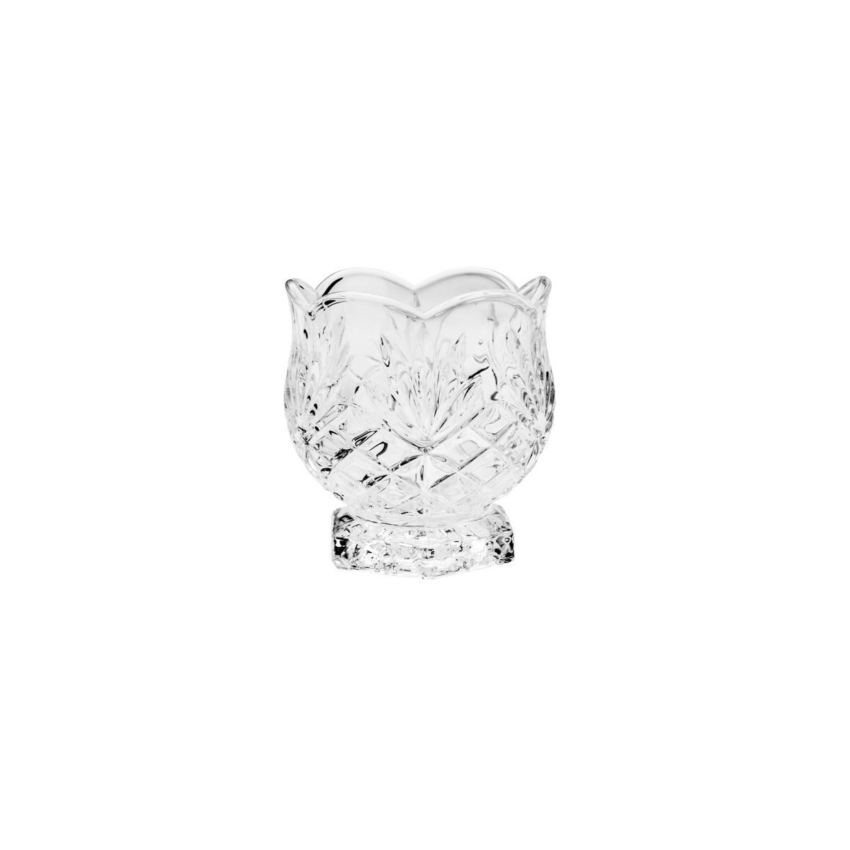 Porta Talher Pequeno em Cristal  Dublin 7,8x8,4cm