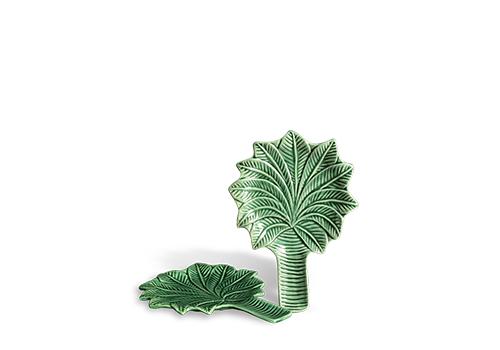 Prato para Pão Coqueiro Modelo Palmeira Verde