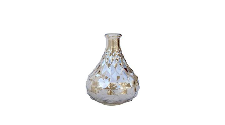 Vaso Pequeno de Vidro âmbar 9,5x13 cm