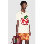 CAMISA GUCCI ESTAMPA GG APPLE
