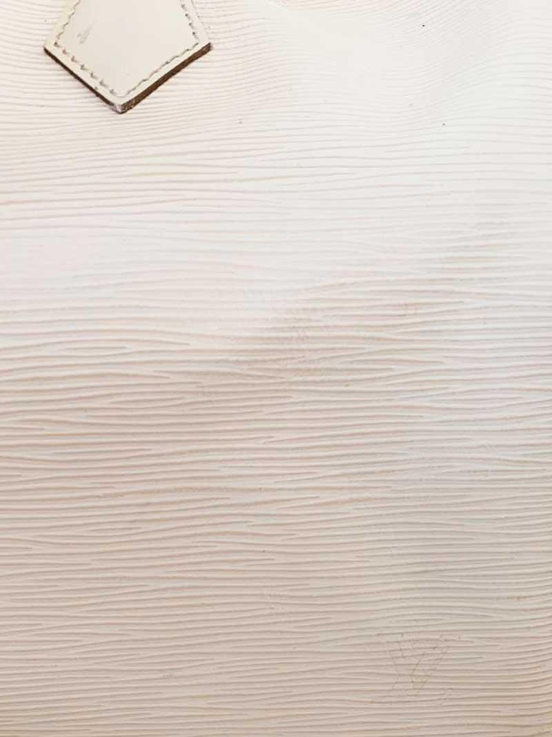 BOLSA LOUIS VUITTON SPEEDY COURO EPI OFF WHITE C/ ALÇA LONGA