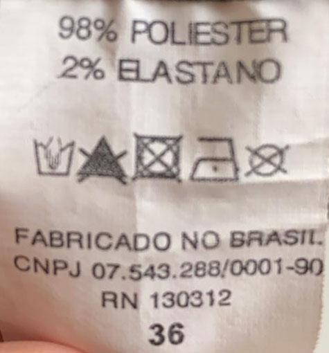 CALÇA LENNY NIEMEYER PRETA TAM 36