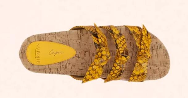 CLARITA CAPRI FLAT BIRMAN - SIZE 37 (35 BRASIL)