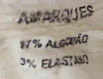 MACACÃO ANDREA MARQUES ESTAMPADO MOSTARDA TAM 38
