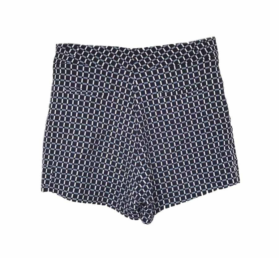 SHORT CRIS BARROS ESTAMPA AZUL TAM 40