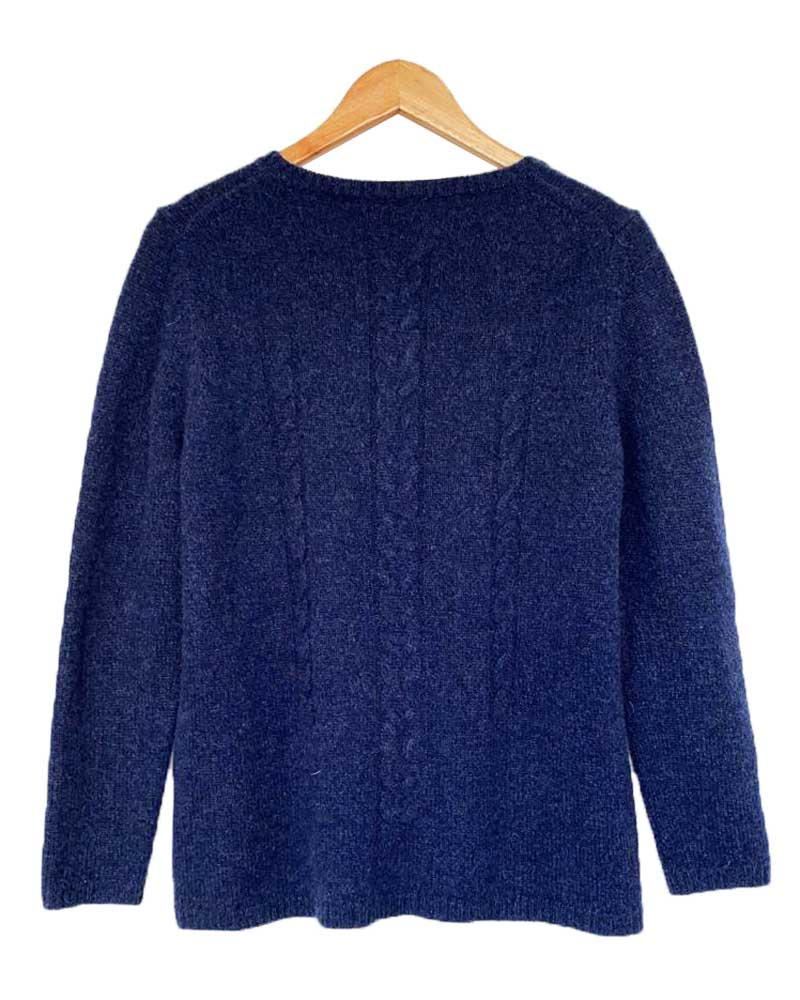 SUETER MADE IN VICTOIRE CASHMERE AZUL SIZE 2