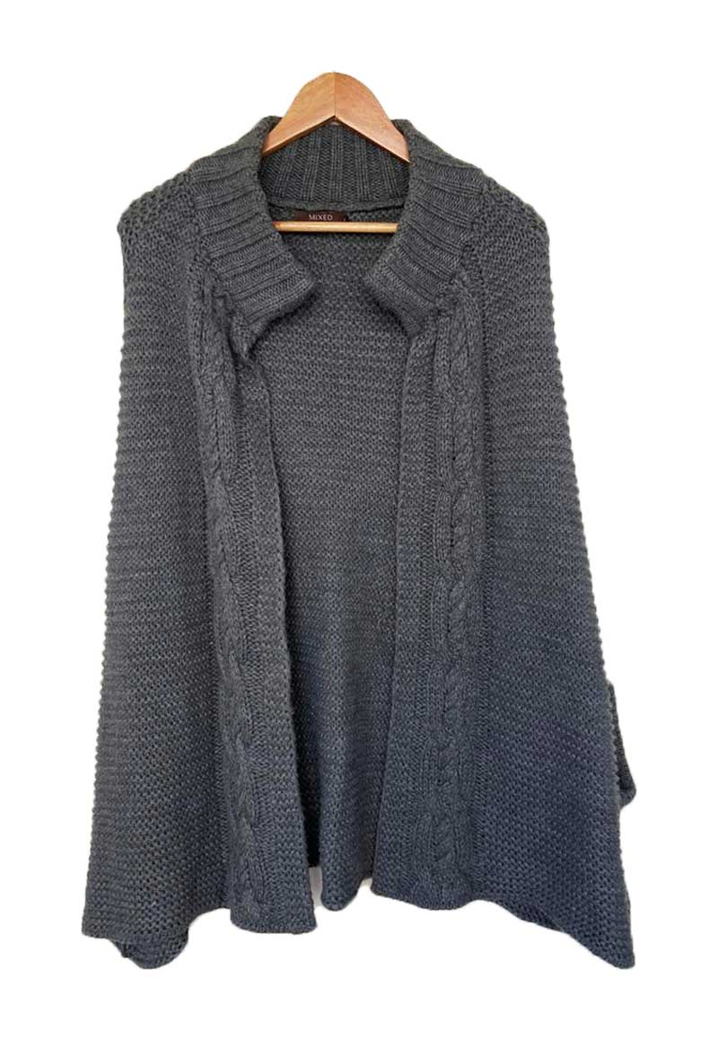 TRICOT MIXED CINZA TAM M