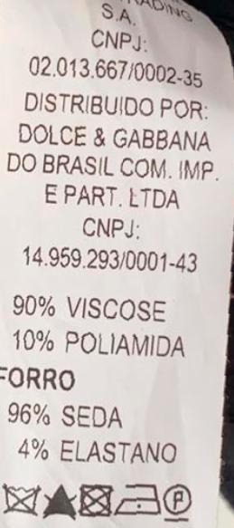 VESTIDO DOLCE & GABBANA TOMARA QUE CAIA PRETO SIZE 44 TAM 36 BRASIL