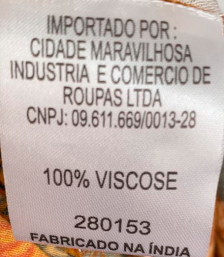 VESTIDO FARM ESTAMPADO TAM P