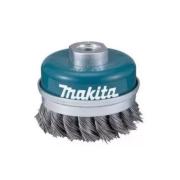 Escova de Aço Copo Fio Trançado 60mm Makita