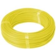Fio Cabo Flexível 2,5mm Sil Flexsil O Melhor C/ 1m - Amarelo