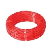 Fio Cabo Flexível 2,5mm Sil Flexsil O Melhor C/ 1m - Vermelho
