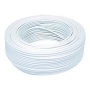 Fio Cabo Flexível 2,5mm Sil Flexsil O Melhor C/ 30m - Branco