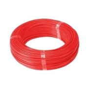 Fio Cabo Flexível 2,5mm Sil Flexsil O Melhor C/ 50m - Vermelho