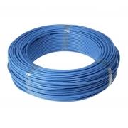 Fio Cabo Flexível 4mm Sil Flexsil O Melhor C/ 1m - Azul
