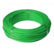 Fio Cabo Flexível 4mm Sil Flexsil O Melhor C/ 1m - Verde