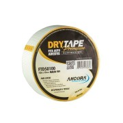 Fita Auto Adesiva DryTape Para Drywall Fibra de Vidro FTD50100 48mm x 100m Ancora