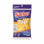 Luva Top Multiuso Para Limpeza Amarela M Sanro
