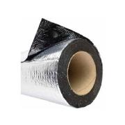 Manta Asfáltica Aluminizada Adesiva para Telhado 90cm x 1 metro