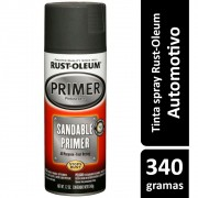 Primer Spray Preto Fosco Rust Oleum
