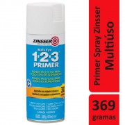 Primer Spray Multiuso 123 Zinsser Branco 369g Rust Oleum