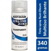 Proteção Para Pintura Multiuso Transparente Brilhante Ultra Cover 340g Rust Oleum