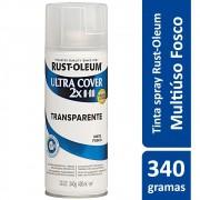 Proteção Para Pintura Multiuso Transparente Fosco Mate Ultra Cover 340g Rust Oleum