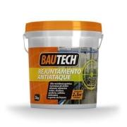 Rejunte Alta Resistencia para piso industrial Antiataque  Cinza 3kg Bautech