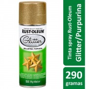 SPRAY GLITTER Ouro 440ml Ref: 274909 Rust-Oleum