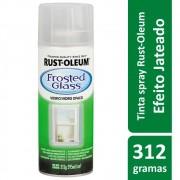 Spray Para Vidros e Espelhos Transparente Frosted Glass 340g Rust Oleum