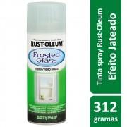 Spray Para Vidros e Espelhos Verde Mar Frosted Glass 340g Rust Oleum