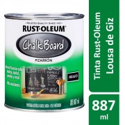 Tinta Lousa Chalk Board Preto Fosco 887ml Rust Oleum