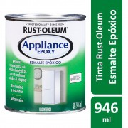 Tinta Para Eletrodomésticos Epoxy Branco Brilhante Lata 946ml Rust Oleum
