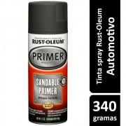 Tinta Para Parachoque Bumper Preto Fosco 312g Rust Oleum