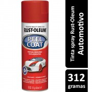 Tinta Spray Automotiva Envelopamento Removível Vermelho Rust Oleum
