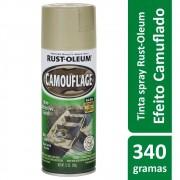 Tinta Spray Camuflagem Areia Rust Oleum