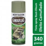 Tinta Spray Camuflagem Verde Exército Rust Oleum
