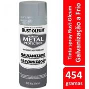 Tinta Spray Metal Protection Galvanização a Frio Rust Oleum
