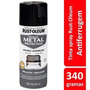 Tinta Spray MP Brilhante Preto Ref: 21303 Rust-Oleum