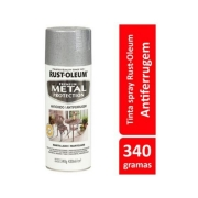 Tinta Spray MP Martillado Prata Rust- Oleum
