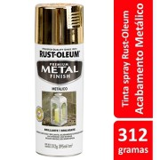 Tinta Spray MP Metálico Ouro Ref: 21549  Rust- Oleum