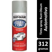 Tinta Spray Peel Coat Prata Fosco Ref: 29422  Rust- Oleum