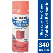 Tinta Spray Ultra Cobertura Coral Brilhante Ultra Cover 340g Rust Oleum
