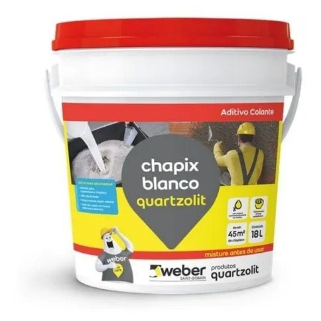 Aditivo para Massa Chapix 18l Quartzolit