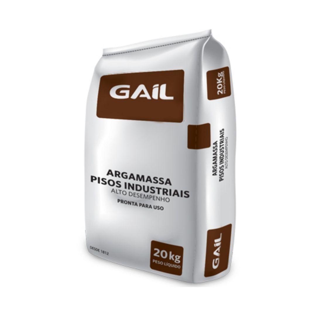 Argamassa Para Piso Industrial Alto Desempenho 20kg Gail