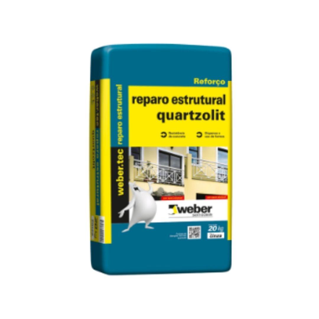 Argamassa Reparo Estrutural 20kg Quatzolit