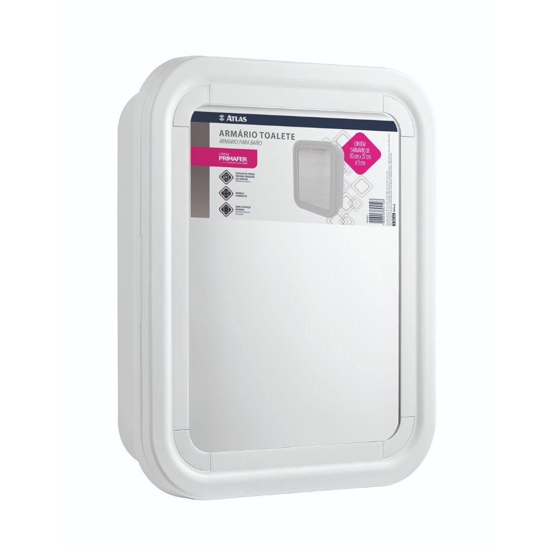 Armário de Banheiro Branco Ref: PR5055-2 Primafer
