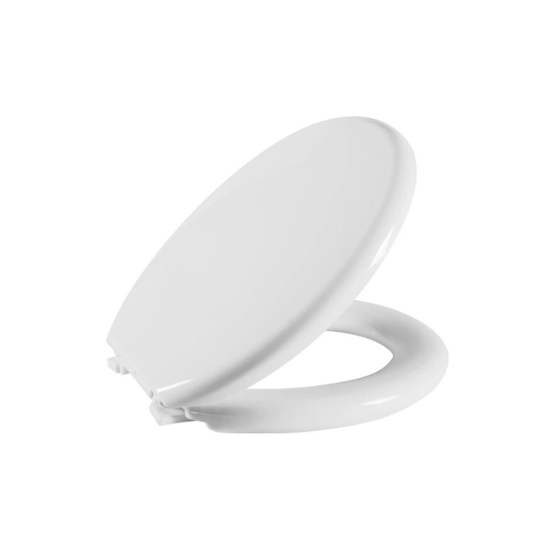 Assento Sanitário Almofadado Universal Oval Branco Astra
