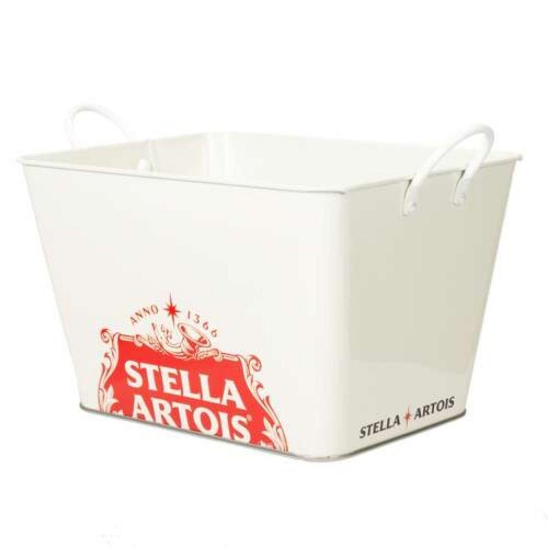 Balde de Gelo Retangular Branco Ref: 29007 Stella Artois